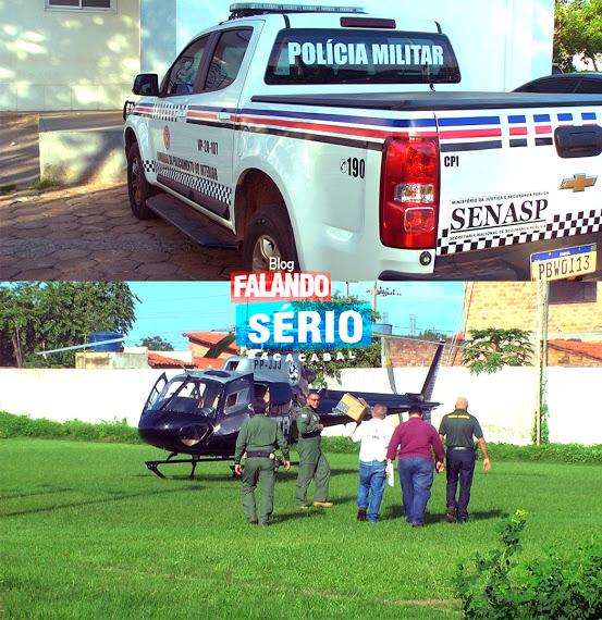 BACABAL: Policiais envolvidos na morte de comerciante são presos e transferidos para São