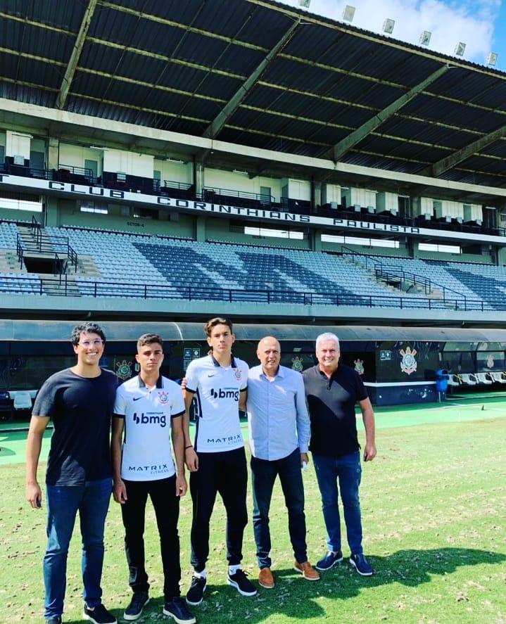 FUTEBOL: Filho de Tuntunense é contratado pelo Corinthians