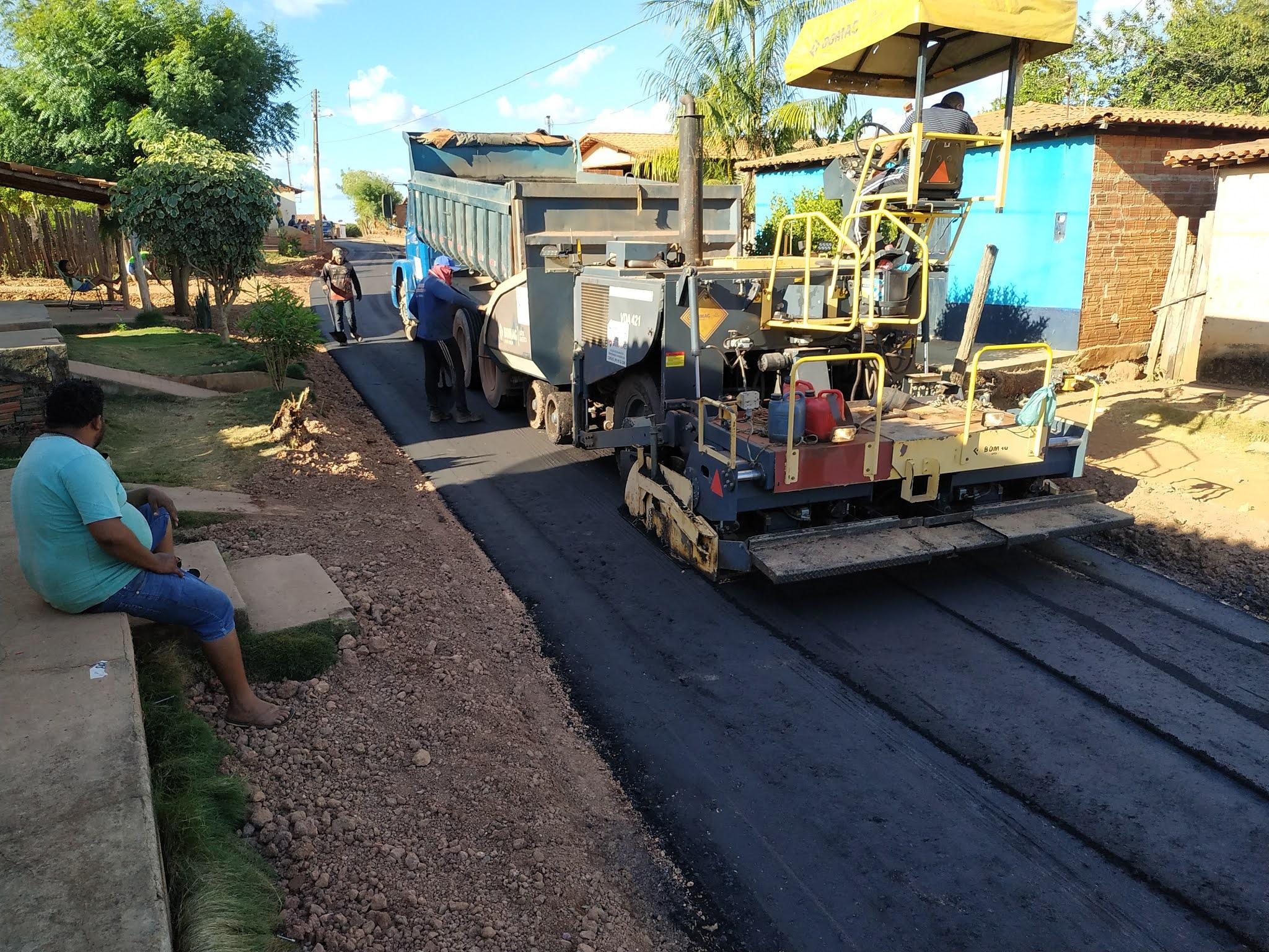 Codevasf paga pavimentação realizada no povoado Creoli do Bina pela então gestão de Dr. Tema
